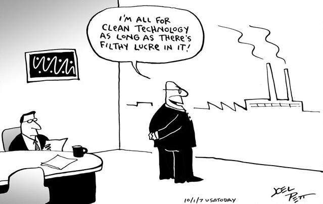 Filthy Lucre cartoon